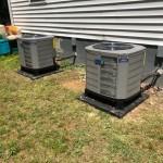 Install new HVAC units